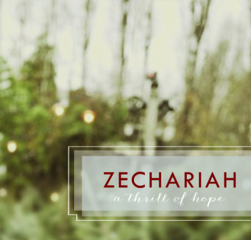 ZECHARIAH; Hope for the Middle; Zechariah 1- 2; David Newman