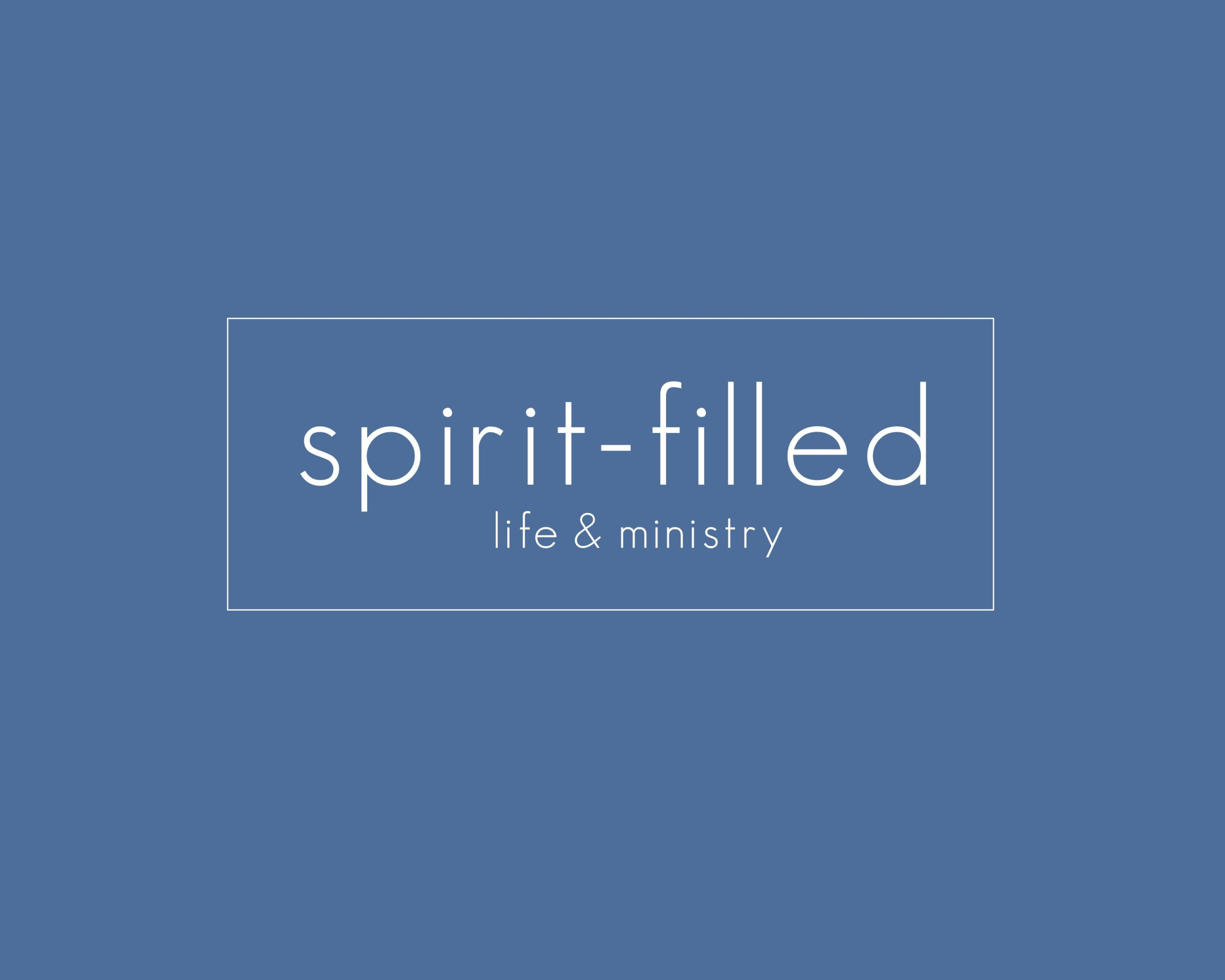 spirit-filled life & ministry poster6